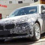 2017 BMW 5 Series shows its headlight design in new spyshots