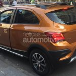 2017 Chevrolet Onix Activ rear leaked ahead of launch