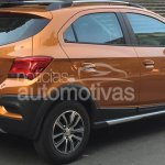 2017 Chevrolet Onix Activ rear three quarter leaked ahead of launch