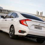 2017 Honda Civic Touring launched in Brazil