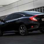 2017 Honda Civic rear quarter launched in Brazil