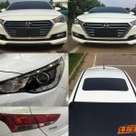 2017 Hyundai Verna headlight production leaked