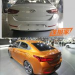 2017 Hyundai Verna rear Concept vs Reality