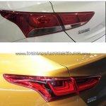 2017 Hyundai Verna taillamp Concept vs Reality