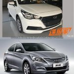 2017 Hyundai Verna vs outgoing model front Old vs New