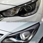 2017 Hyundai Verna vs outgoing model headlamp Old vs New