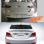 2017 Hyundai Verna vs outgoing model rear Old vs New