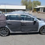 2017 Hyundai i30 profile spy shot