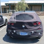 2017 Hyundai i30 rear spy shot
