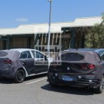 2017 Hyundai i30 rear three quarters spy shot