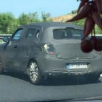 2017 Maruti Swift shows its rear design in new spyshot