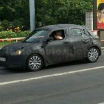 2017 Maruti Swift side spied in Europe by IAB reader
