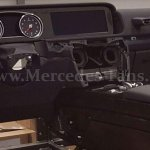 2017 Mercedes G-Class interior dashboard leaked image