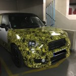 2017 Mini Countryman front quarter spied