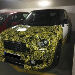 2017 Mini Countryman front spied
