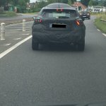 2017 Nissan Micra rear spy shot
