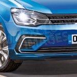 2017 VW Polo front fascia rendering