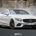 2018 Mercedes S 63 AMG Coupe (facelift) front three quarters rendering