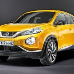 2018 Nissan Juke front three quarters rendering