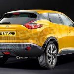 2018 Nissan Juke rear three quarters rendering