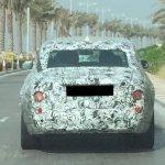 2018 Rolls Royce Phantom rear spied in production body