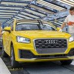 Audi Q2 Ingolstadt plant production