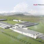Audi San Jose Chiapa Mexico plant rendering