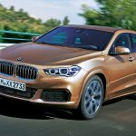 BMW X2 front three quarters rendering