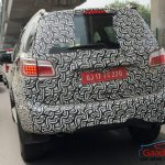Chevrolet Trailblazer rear end (facelift) spied