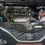 Export-spec Maruti Baleno DualJet SHVS engine bay spied testing