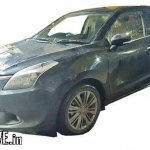 Export-spec Maruti Baleno DualJet SHVS front three quarter spied testing