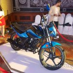 Hero Splendor iSmart 110 launch front quarter live pic