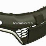 Honda WR-V's (Honda Jazz cross) grille design leaked