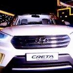 Hyundai Creta Anniversary Edition front photographed