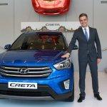 Hyundai Creta front Russia