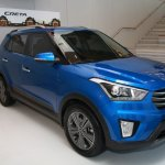 Hyundai Creta front three quarters Russia