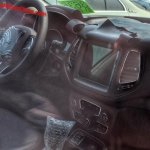 Jeep 551 (Jeep C-SUV) interior spy shot