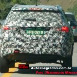 Jeep 551 (Jeep C-SUV) rear spy shot