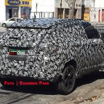 Jeep 551 (Jeep C-SUV) rear three quarters spy shot