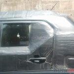 Maruti Ignis test mule rear door spied up close
