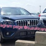(Maruti) Suzuki S-Cross facelift photographed up-close