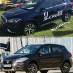 (Maruti) Suzuki S-Cross facelift vs Older model side Old vs New