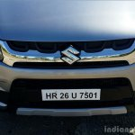 Maruti Vitara Brezza grille, headlamp, bumper full review