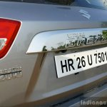 Maruti Vitara Brezza rear end full review