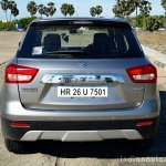 Maruti Vitara Brezza rear full review