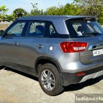 Maruti Vitara Brezza rear three quarter full review