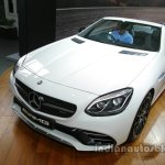 Mercedes-AMG SLC 43 headlamp, grille, bumper launched in India