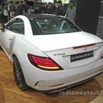 Mercedes-AMG SLC 43 rear quarter launched in India