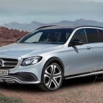 Mercedes E-Class All Terrain front three quarters rendering