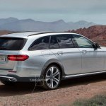 Mercedes E-Class All Terrain rear three quarters rendering